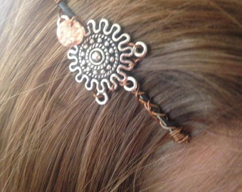 Rising Sun Hair Pin