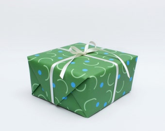 Catch Wrapping Paper - Green
