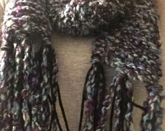 Soft Homemade Multicolored Scarf
