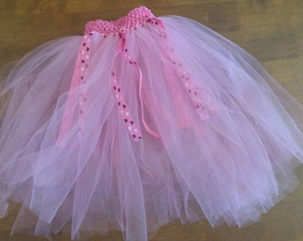 Pink Tutu with hearts