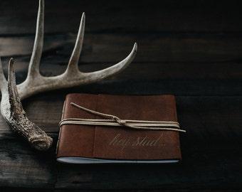 Leather Bound Boudoir Book