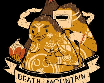Death Mountain Tattoos zelda T-shirt / link shirt / the legend of zelda tee / ocarina of time / n64 nintendo switch / goron death mountain