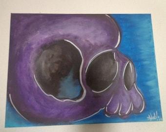 Painting Skull