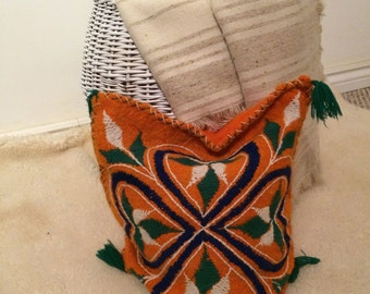 Southwestern style pillow cover