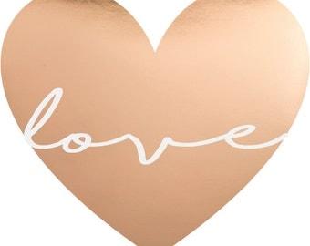 Rose Gold Love