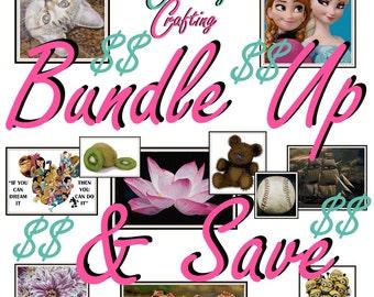 Cross Stitch Pattern Bundles - Great Deal of Cross Stitch Patterns - Bundle and Save!
