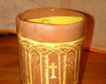 Romanesque medieval mug