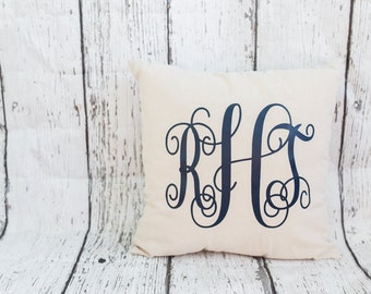 Monogrammed Pillow // Personalized Pillow // Monogrammed Home Decor