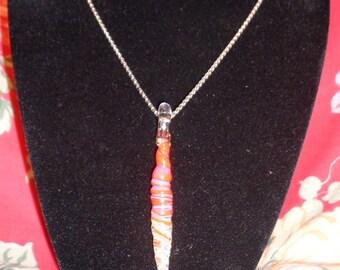long red pendant