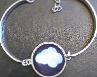 Bracelet silver cloud