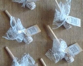 Love is sweet honey spoons wedding favors