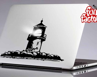 Lighthouse Macbook Decal Sticker 0070mac
