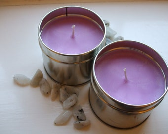 Headache Relief Scented Crystal Candle -