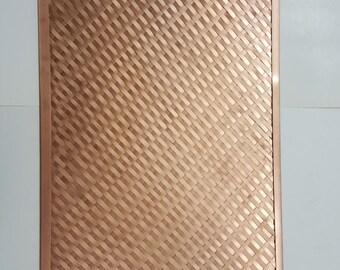Hand Woven Copper