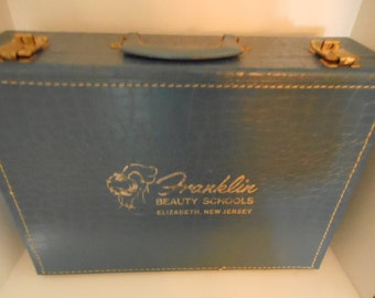 Vintage Franklin Beauty School Suitcase