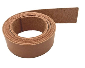 "Leather Strips 1"" - 25MM Width 