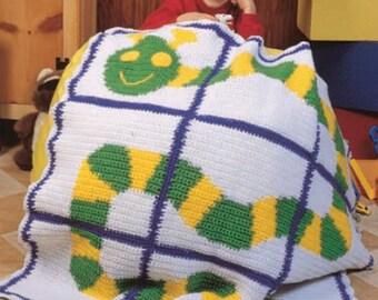 Crochet pattern afghan PDF Instant Download Nr.130