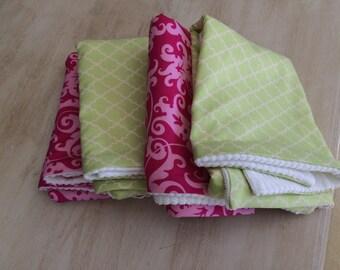 Baby Burp Cloth, Set of 4