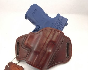 Springfield XD Sub-Compact .40/9MM - Handcrafted Leather Pistol Holster