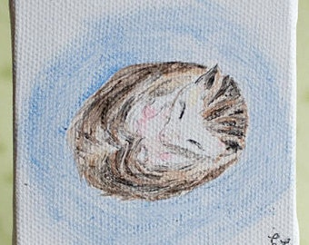 Hedgehog watercolor, hedgehog painting, watercolor painting, original hedgehog painting
