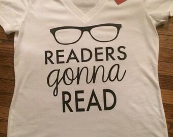 Medium 'Readers Gonna Read' TShirt