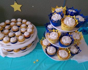 Star Cupcake Wraps