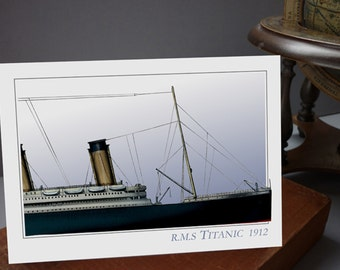 RMS Titanic 1912 - greeting card