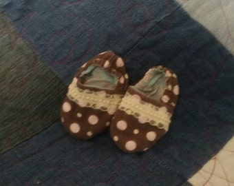 0-3 baby shoes hand made