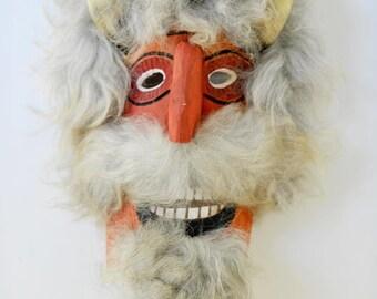 Romanian Folk Art Mask