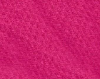Fuschia 10 oz Cotton Lycra - BTY