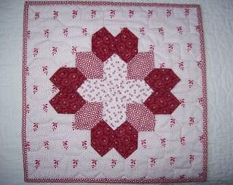 Happy Valentine quilt
