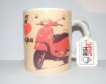 I love Vespa Mug - 11oz Ceramic Coffee Cup Mug