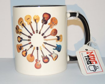 Guitars - Choose your weapon - Music - Mug Cup Funny