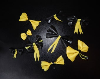 Latex simple and double bows