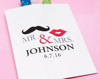 50 pcs Mr. & Mrs. Personalized Goody Bag (MIC-FJM570090-PM11-810-2)