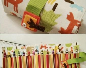 Velcro Crayon roll