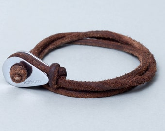 WRAP Bracelet Friendship Bracelet Custom Bracelet Leather Bracelets Leather Bracelet Cuff Friendship Bracelet String Bracelet Engraved Cord