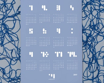 Point comma stroke - calendar 2017 block.serenity