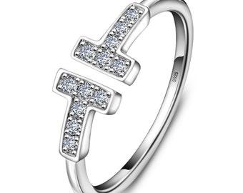 Ring TT, silver ring, silver ring, MM-JW030