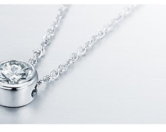 Bold necklace, necklace with pendant, silver necklace, MM-JW036