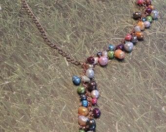 Cascade Necklace & Earrings