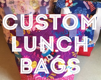 Custom Lunch Bags