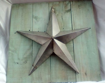 Rustic Wall Hanging with Metal star