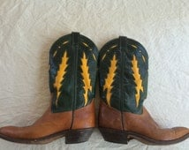 Vintage Code West Women's Cowboy Boots size 7 Hardly Worn...Still With Tags!