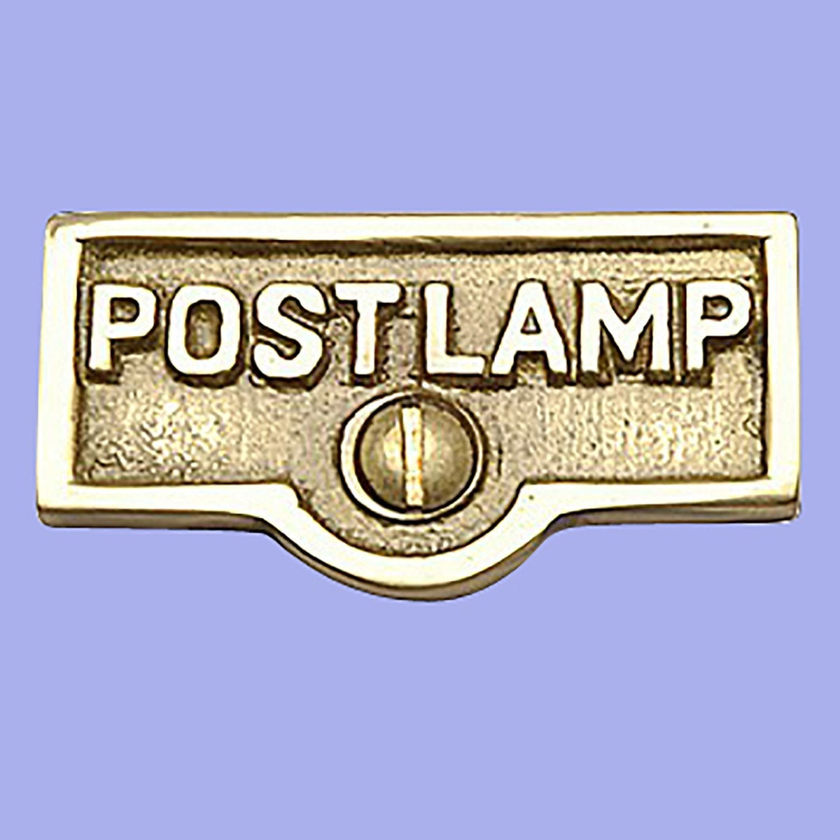 Name Tag Master Post: 25 Switch Plate Tags Post Lamp Name Signs By