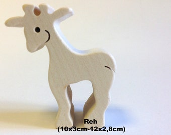 Wooden figure Deer