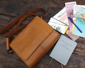 Leather Tablet Purse- La TabBag 3 - natural-oiled