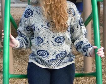 Vintage Spiral Sweater