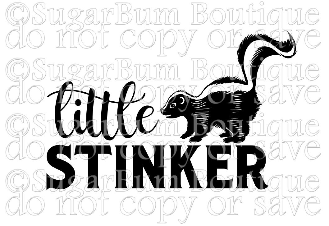Little Stinker Svg From Sugarbumboutique On Etsy Studio