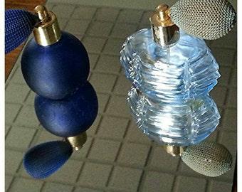 Vintage spray perfume bottles
